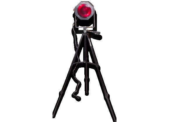 Lampe industrielle Trepied photo et cinema