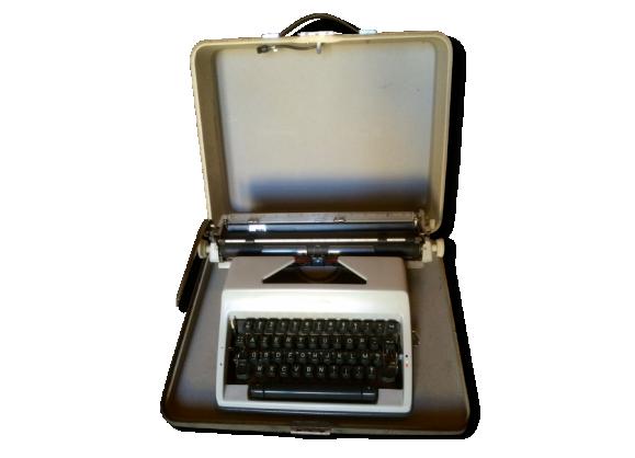 Machine à écrire Olympia SM9 (1969) + Valise