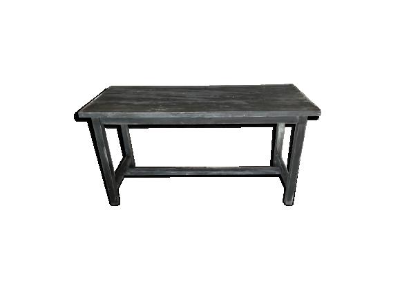 Table rectangle noir