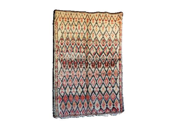 tapis beni ouarain du maroc 200x285 cm tissu multicolore bon tat thnique. Black Bedroom Furniture Sets. Home Design Ideas