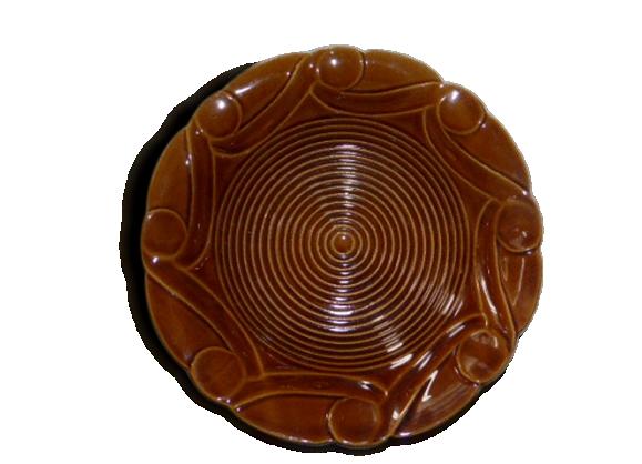 Plat creux en céramique