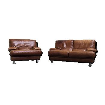 canap vintage d 39 occasion et banquette vintage. Black Bedroom Furniture Sets. Home Design Ideas