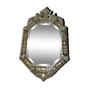 miroirs vintage d 39 occasion. Black Bedroom Furniture Sets. Home Design Ideas