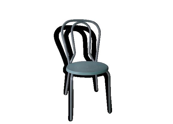 Chaise vintage esprit bistro