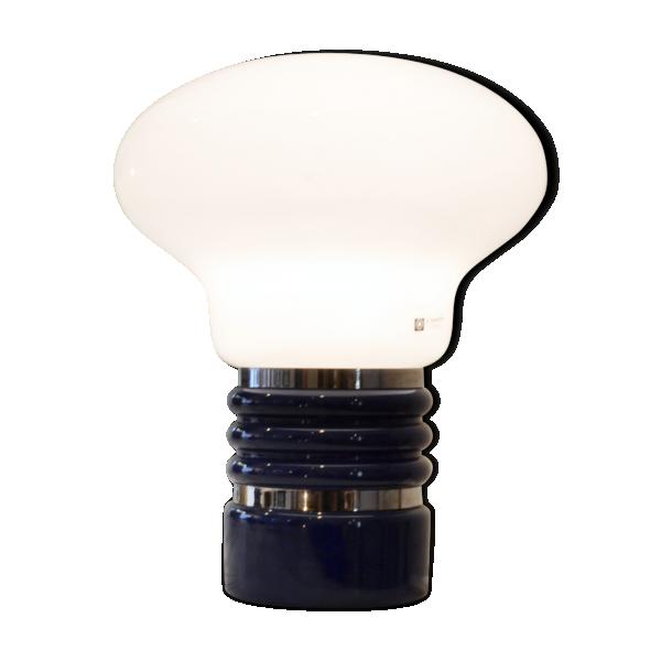 Lampe italienne verre et cristal bleu bon tat design 8623eb130e1f3 - Lampe italienne design ...