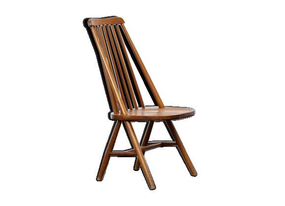 Chauffeuse scandinave bois materiau bois couleur for Chauffeuse scandinave