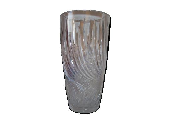 Vase années 50-60 en cristal