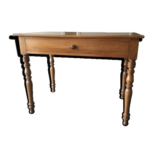 bureau en bois bois mat riau bois couleur bon tat classique. Black Bedroom Furniture Sets. Home Design Ideas