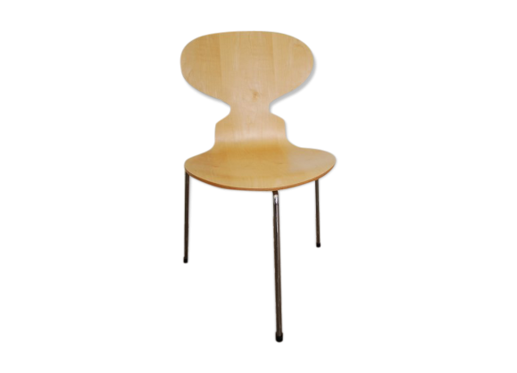 Chaise 3100 fourmi the ant chair arne jacobsen fritz for Arne jacobsen chaise fourmi