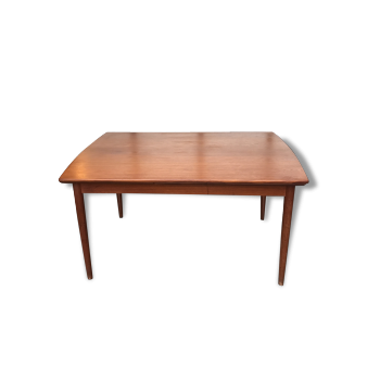 Table salle manger design vintage des ann es 60 70 for Table scandinave avec rallonge