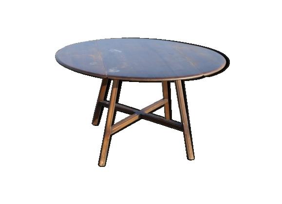 Table Ercol ovale rabattante