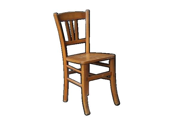 Chaise bistro bois blond