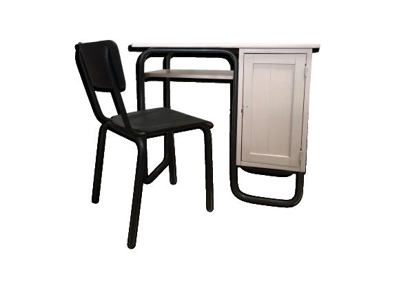 chaise m tal mat. Black Bedroom Furniture Sets. Home Design Ideas