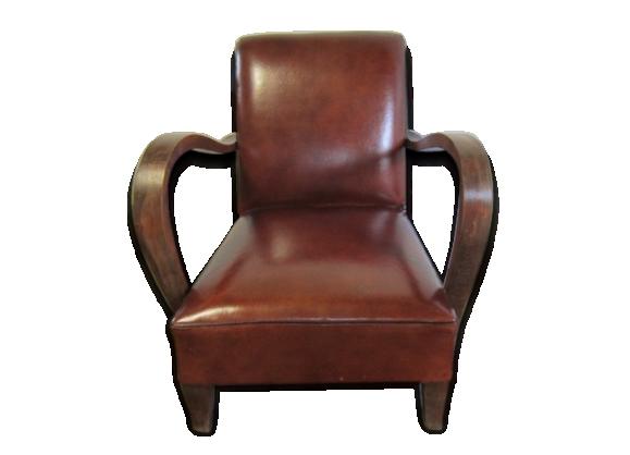 fauteuil art d co 1930 le fait main. Black Bedroom Furniture Sets. Home Design Ideas