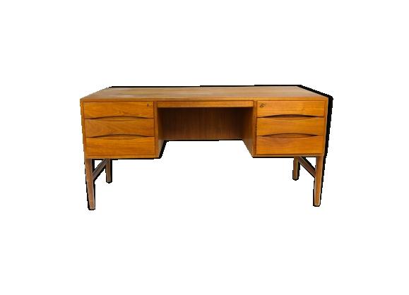 bureau en teck moderne danois le fait main. Black Bedroom Furniture Sets. Home Design Ideas