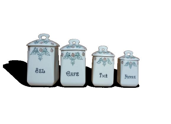 Série de 4 pots à épices