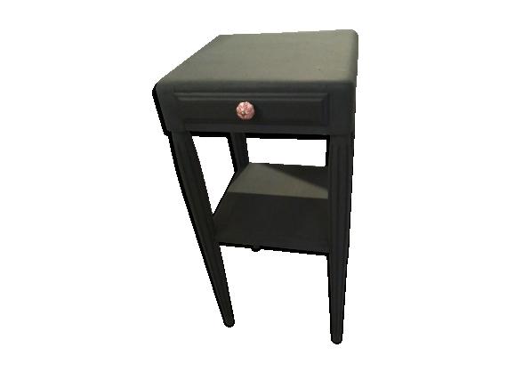 Table art déco 1930 noire