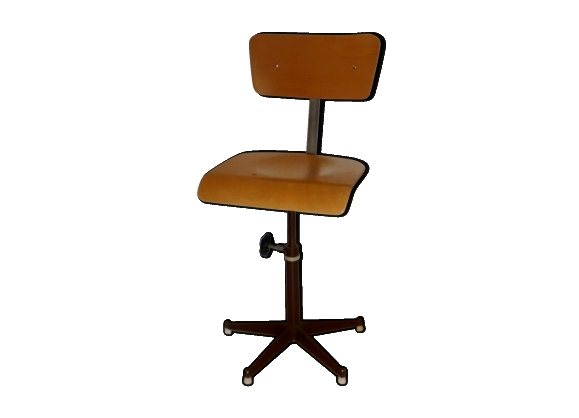 chaise atelier industriel. Black Bedroom Furniture Sets. Home Design Ideas