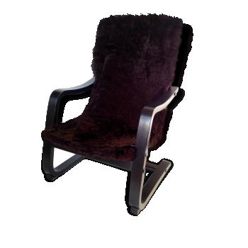 S 39 asseoir de couleur marron vintage d 39 occasion - Mini fauteuil enfant ...
