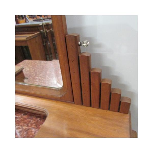 coiffeuse art d co en noyer bois mat riau bois couleur bon tat art d co. Black Bedroom Furniture Sets. Home Design Ideas