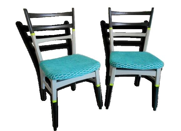 Paire de chaises sixties