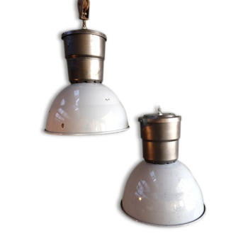 Suspension plafonnier style industriel d 39 occasion - Lampe industrielle d occasion ...