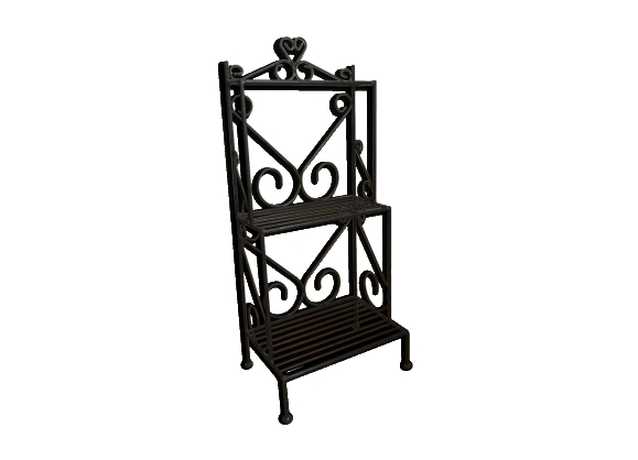 meuble fer forg. Black Bedroom Furniture Sets. Home Design Ideas