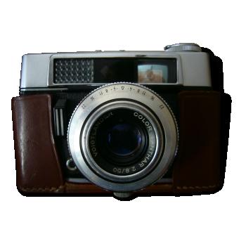 appareil photo polaroid spirit 600 plastique gris bon tat vintage. Black Bedroom Furniture Sets. Home Design Ideas