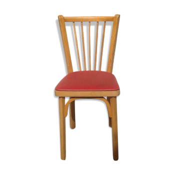 Chaise de couleur rouge vintage d 39 occasion - Chaise vintage occasion ...