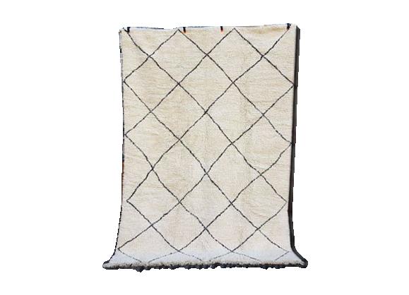 tapis marocain beni ourain berb re marocain tapis tapis laine kilim 300 x 200 cm tissu. Black Bedroom Furniture Sets. Home Design Ideas