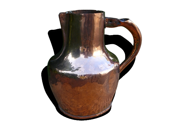 Pichet de cuivre ancien
