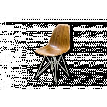 Eames DSR Molded Wood Side Chair en Palissandre