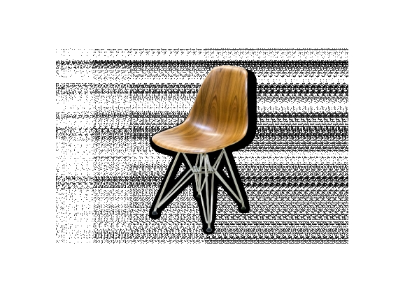 Eames DSR Molded Wood Side Chair en Palissandre