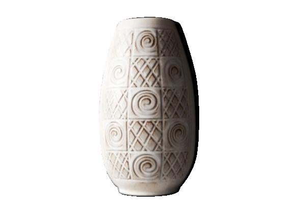 Vase Jasba motifs morpions et croix