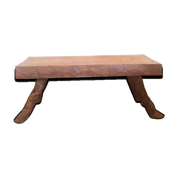 Table De Chevet Bois Brut Decorer