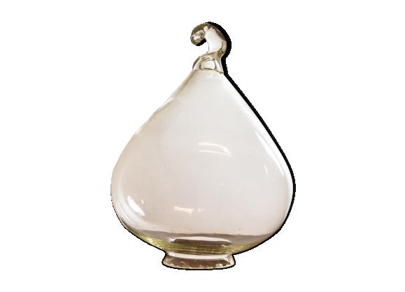 Cloche vintage en verre