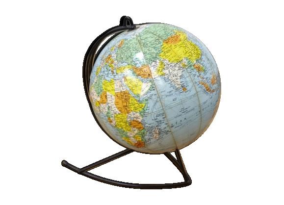 Globe terrestre vintage - Globe terrestre en carton ...