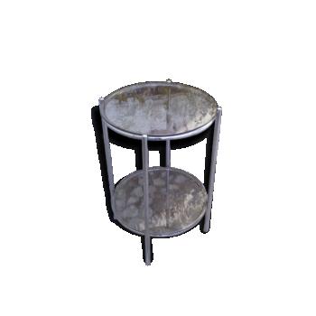 desserte table roulante ann es 50 m tal bon tat classique 4799. Black Bedroom Furniture Sets. Home Design Ideas