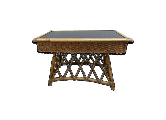 table console verre. Black Bedroom Furniture Sets. Home Design Ideas