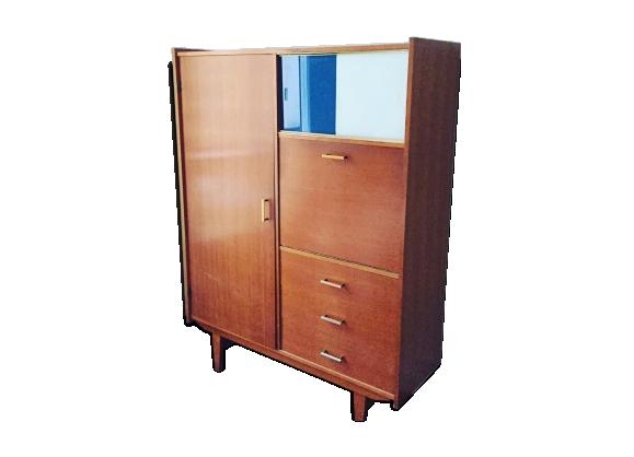 meuble rangement secr taire. Black Bedroom Furniture Sets. Home Design Ideas