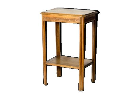 table haute vintage. Black Bedroom Furniture Sets. Home Design Ideas