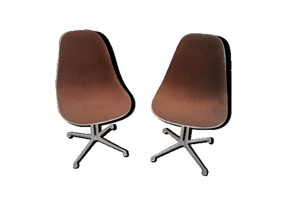 Paire de chaise La Fonda par Ray et Charles Eames pour Herman Miller