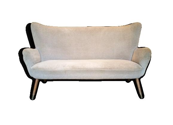 Canapé sofa cocktail wing bergere années 50/60 vintage