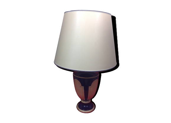 jean roger d coration paris belle lampe balustre de table. Black Bedroom Furniture Sets. Home Design Ideas
