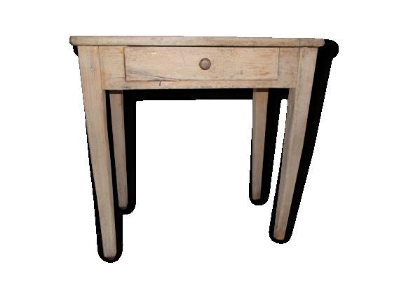bureau enfant vintage bois mat riau marron dans son jus vintage 167252. Black Bedroom Furniture Sets. Home Design Ideas
