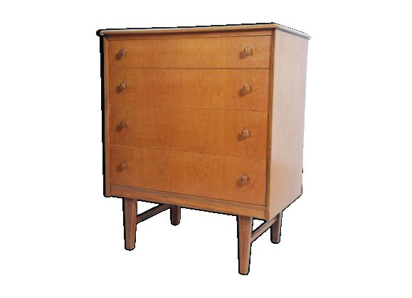 commode en teck teck bois couleur bon tat vintage a50e23d898513f2384918b996a1f7ebe. Black Bedroom Furniture Sets. Home Design Ideas