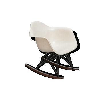 Rocking Chair RAR en fibre de verre, Zenith 3° génération, Charles & Ray EAMES - 1960