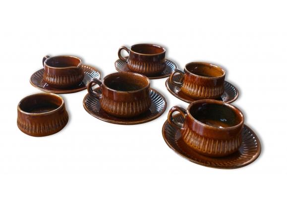 Sercice a thé 'Gefle keramik'