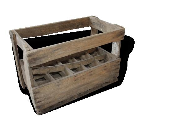 casier bouteille en bois le fait main. Black Bedroom Furniture Sets. Home Design Ideas