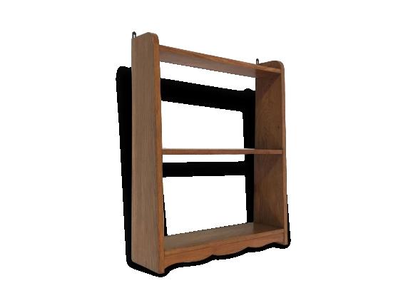 Petite étagère en bois.